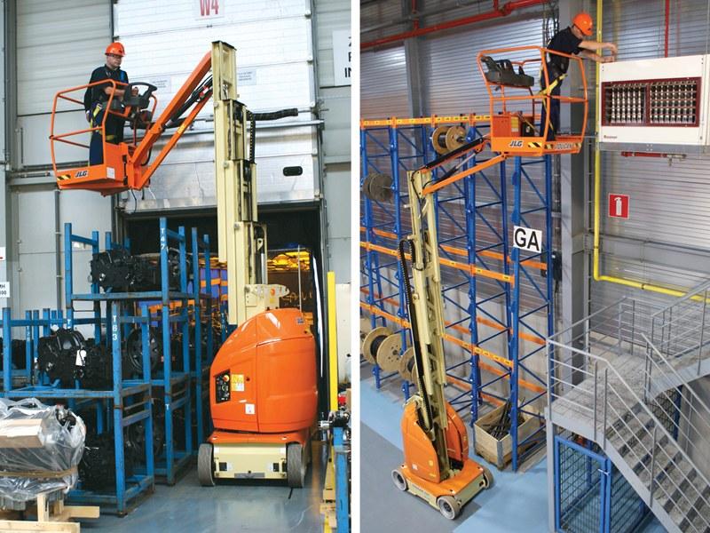 Mastil T10E-warehouse