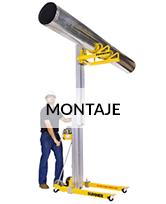 Alquiler de plataformas elevadoras montaje