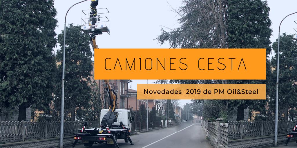 Camiones cesta: novedades del 2019